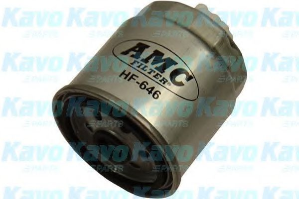 AMC FILTER Fuel filter HF-646 For HYUNDAI, KIA