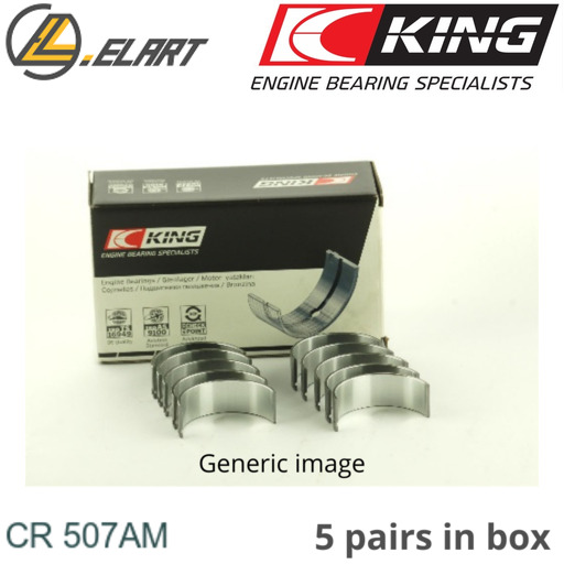 King Big End Con Rod Bearings CR507AM STD For FIAT 2.0 20V