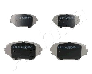 Brake Pad Set, disc brake - 50-02-280