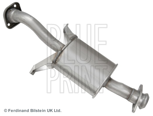 Front Silencer for MITSUBISHI PAJERO II Canvas Top,V2_W,V4_W BLUE PRINT ADC46015