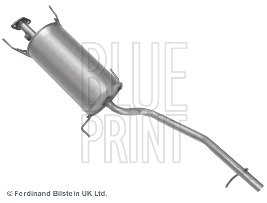 Middle-/End Silencer for PIAGGIO,DAIHATSU PORTER Box,HCEL BLUE PRINT ADD66007
