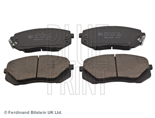 Brake Pad Set, disc brake - ADG04278
