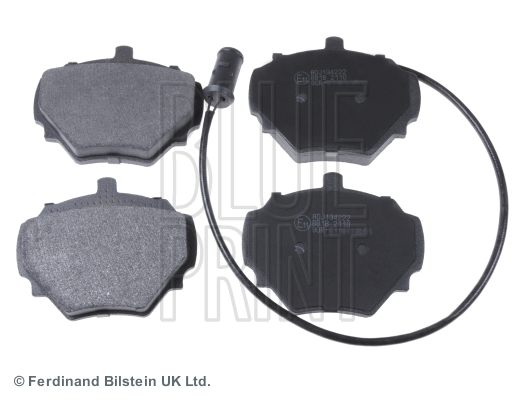 Brake Pad Set, disc brake - ADJ134222