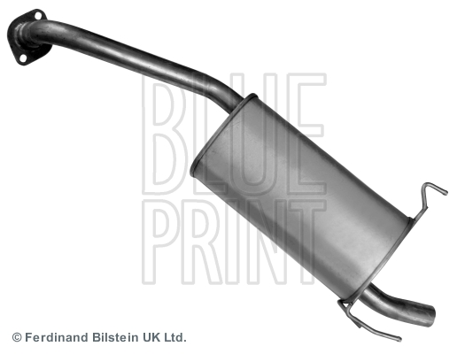 Middle-/End Silencer for MAZDA E-SERIE MPV,SG,WL-T BLUE PRINT ADM56004
