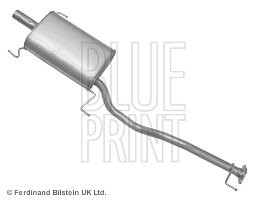 Middle-/End Silencer for TOYOTA PREVIA,R1,R2,3C-TE BLUE PRINT ADT36001