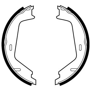 Brake Shoe Set, parking brake - LS1884 DELPHI