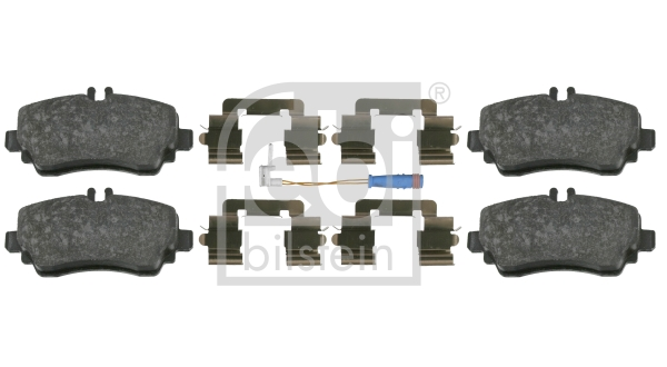 Brake Pad Set, disc brake - 16439