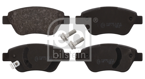 Brake Pad Set, disc brake - 16627