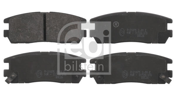 Brake Pad Set, disc brake - 16641