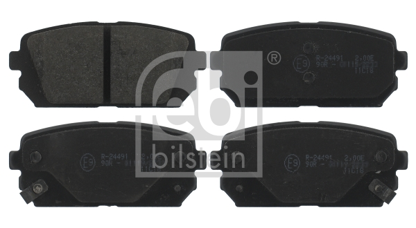 Brake Pad Set, disc brake - 16817