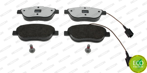 Brake Pad Set, disc brake - FDB1467