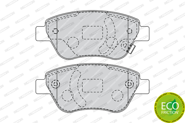 Brake Pad Set, disc brake - FDB1920