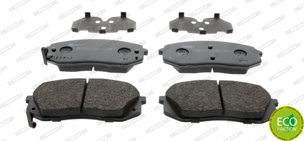 Brake Pad Set, disc brake - FDB4194