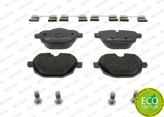 Brake Pad Set, disc brake - FDB4376