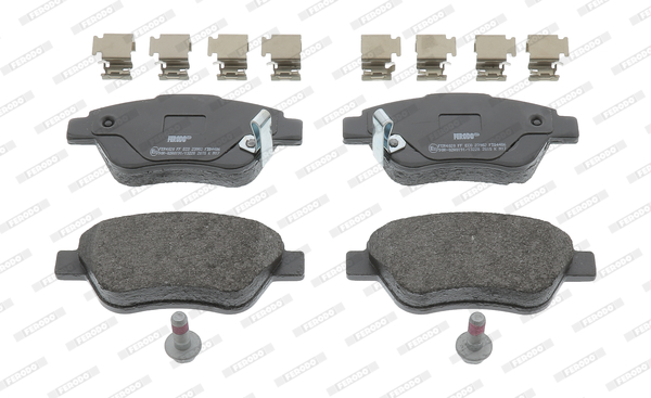 Brake Pad Set, disc brake - FDB4486