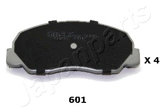 Brake Pad Set, disc brake - PA-601AF