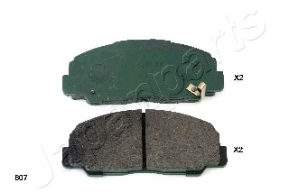 Brake Pad Set, disc brake - PA-607AF