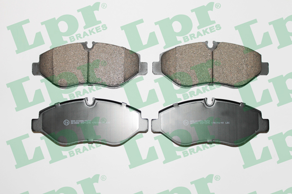 Brake Pad Set, disc brake - 05P1275