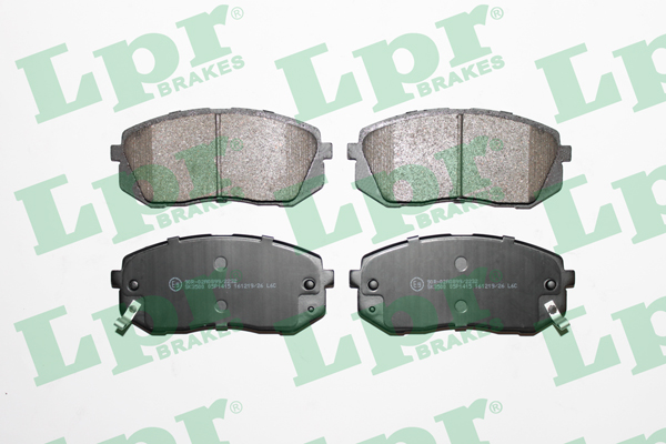 Brake Pad Set, disc brake - 05P1415