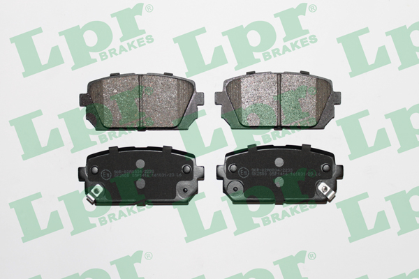 Brake Pad Set, disc brake - 05P1416