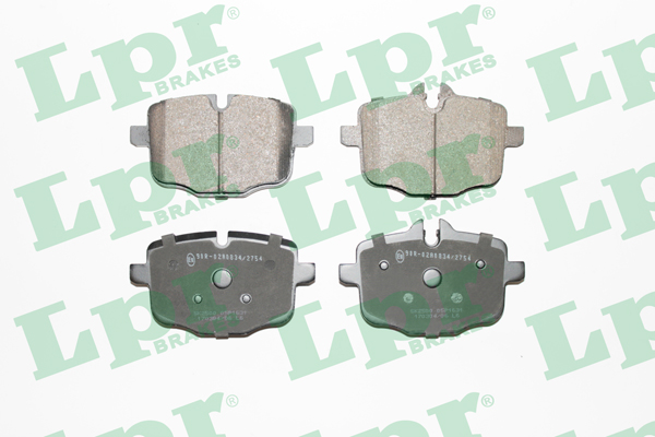 Brake Pad Set, disc brake - 05P1631