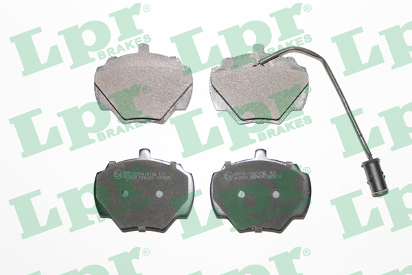 Brake Pad Set, disc brake - 05P431