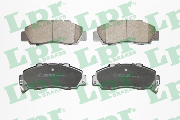 Brake Pad Set, disc brake - 05P472