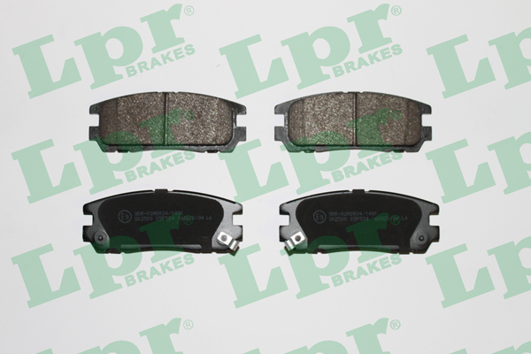 Brake Pad Set, disc brake - 05P524