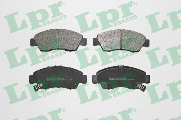 Brake Pad Set, disc brake - 05P558