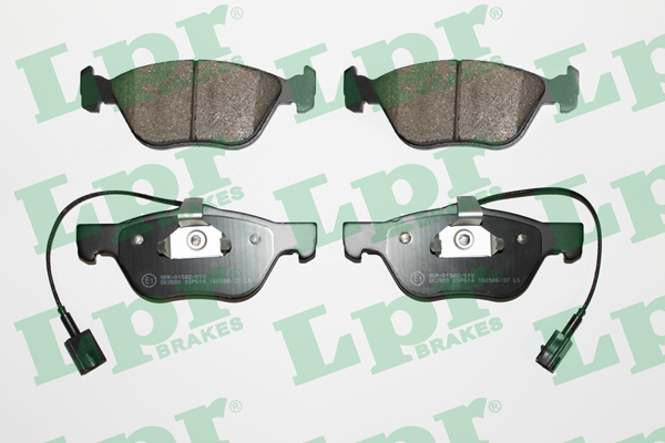 Brake Pad Set, disc brake - 05P614