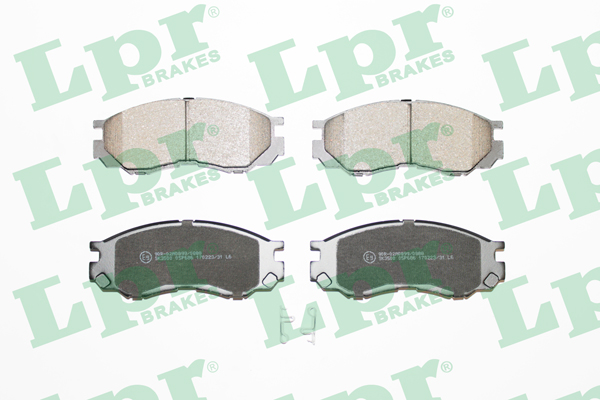 Brake Pad Set, disc brake - 05P686