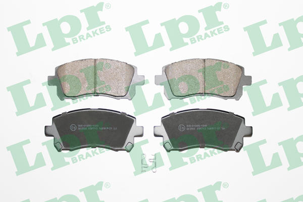 Brake Pad Set, disc brake - 05P713