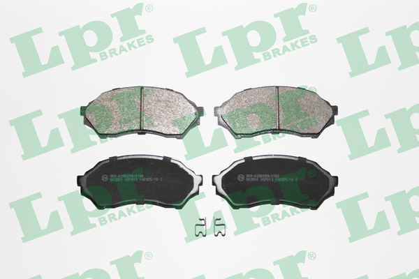 Brake Pad Set, disc brake - 05P813