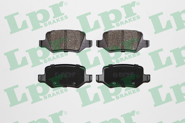 Brake Pad Set, disc brake - 05P850