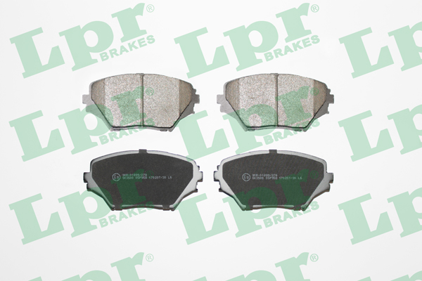 Brake Pad Set, disc brake - 05P958