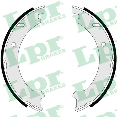 Brake Shoe Set, parking brake - 07235