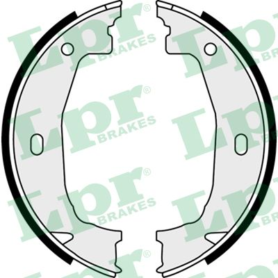 Brake Shoe Set, parking brake - 08100