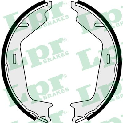 Brake Shoe Set, parking brake - 08260 LPR