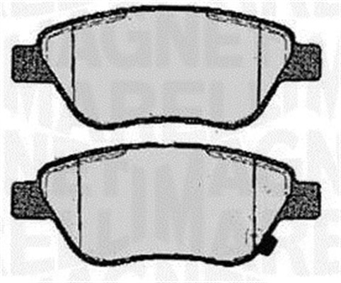 Brake Pad Set, disc brake - 363916060361