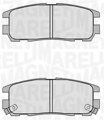 Brake Pad Set, disc brake - 363916060497