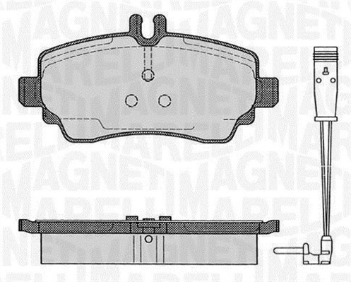 Brake Pad Set, disc brake - 363916060517