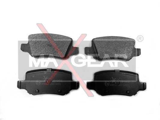 Brake Pad Set, disc brake - 19-0452