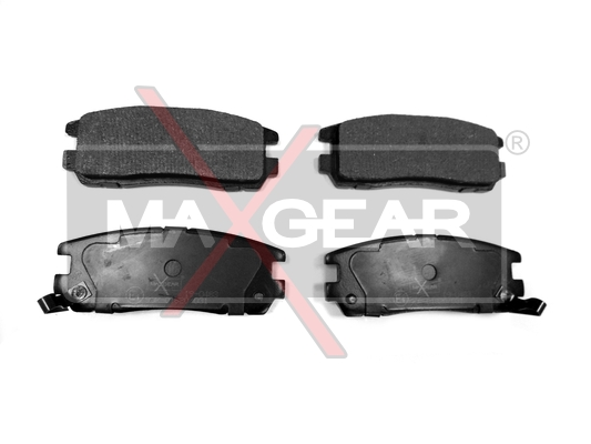 Brake Pad Set, disc brake - 19-0483