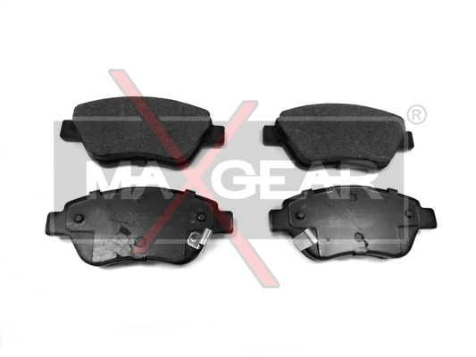 Brake Pad Set, disc brake - 19-0522