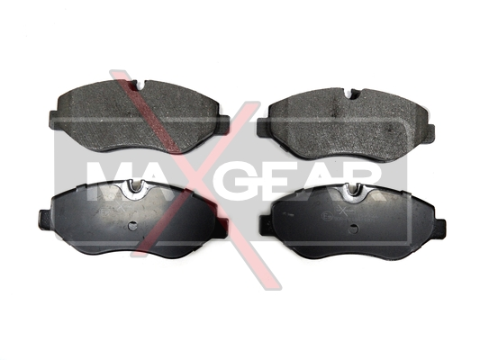 Brake Pad Set, disc brake - 19-0666