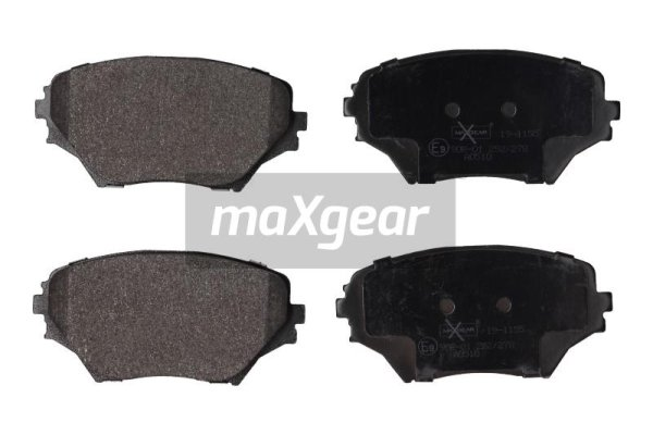 Brake Pad Set, disc brake - 19-1155