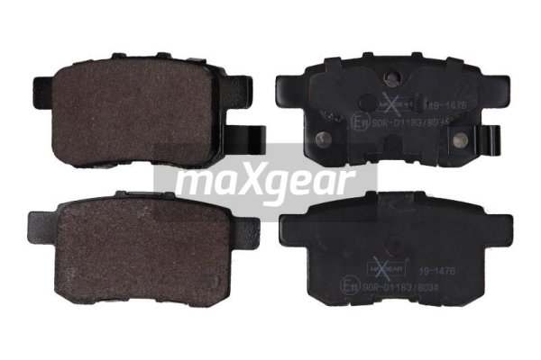 Brake Pad Set, disc brake - 19-1476