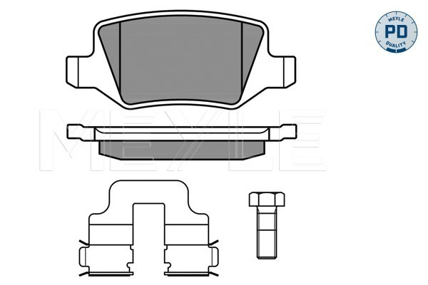 Brake Pad Set, disc brake - 025 231 3814/PD