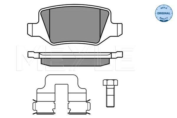 Brake Pad Set, disc brake - 025 231 3814