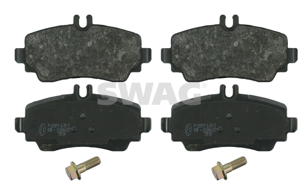 Brake Pad Set, disc brake - 10 91 6373